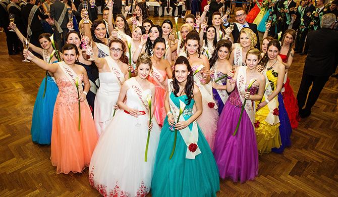 Maturitní ples O4 SPŠS a OA Kladno 2016 - Dům Kultury Kladno