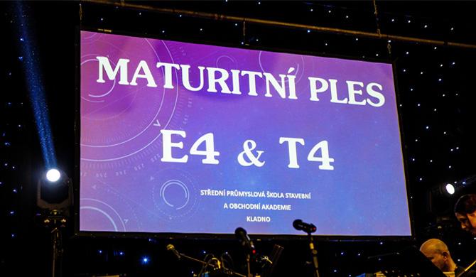 Maturitní ples E4 a T4 SPŠS a OA Kladno 2016